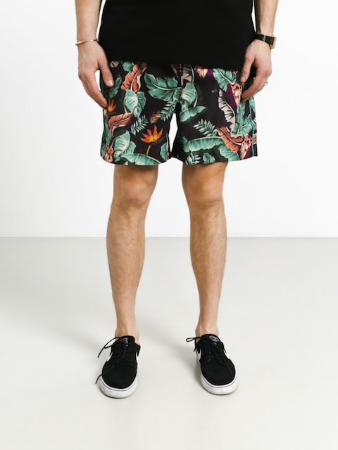 Szorty Diamond Supply Co. Tropical Paradise Short (black)