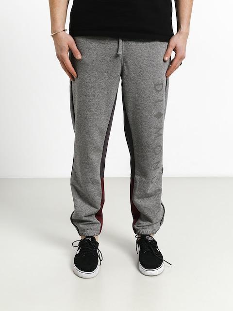 Spodnie Diamond Supply Co. Fordham Sweatpants (heather grey)