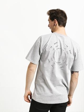 T-shirt Diamond Supply Co. Void (heather grey)