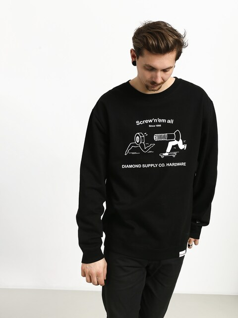 Bluza Diamond Supply Co. Screw N Em All (black)