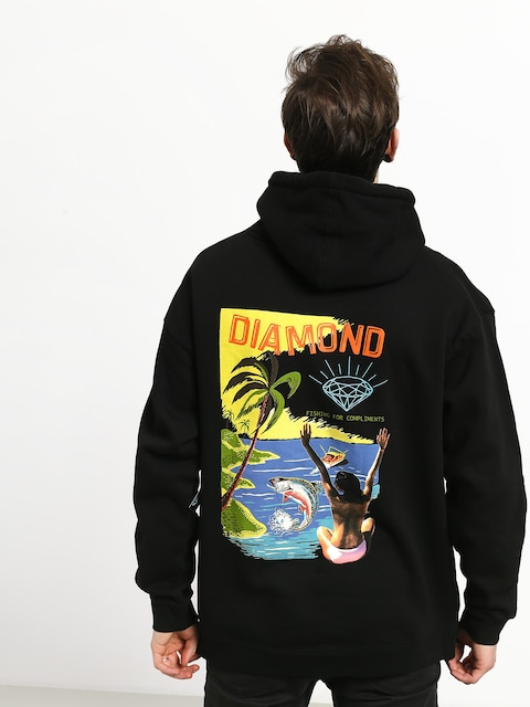 Bluza z kapturem Diamond Supply Co. Fishing For Compliments HD (black)