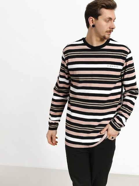 Longsleeve Diamond Supply Co. Marquise Striped