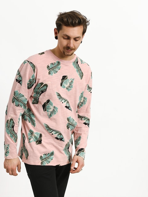 Longsleeve Diamond Supply Co. Tropical Paradise (pink)