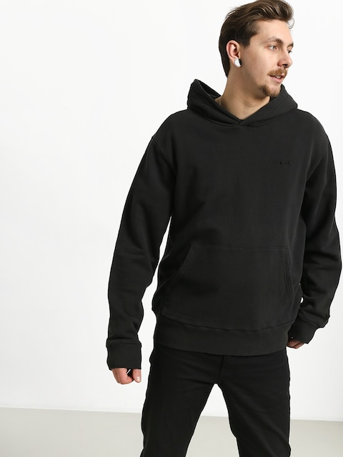Bluza z kapturem Diamond Supply Co. Brilliant Overdyed Oversized HD (black)