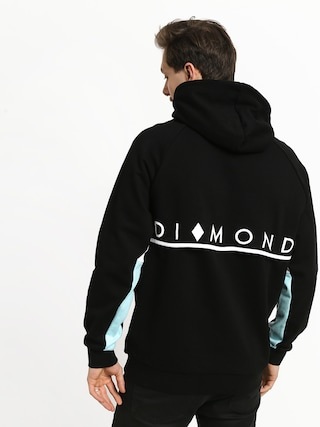 Bluza z kapturem Diamond Supply Co. Fordham HD (black)