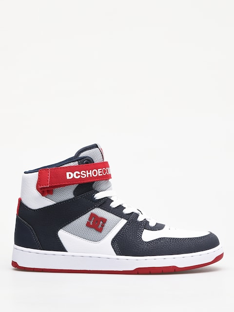 Buty DC Pensford (white/navy/red)