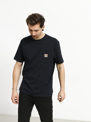 T-shirt Carhartt WIP Pocket (dark navy heather)
