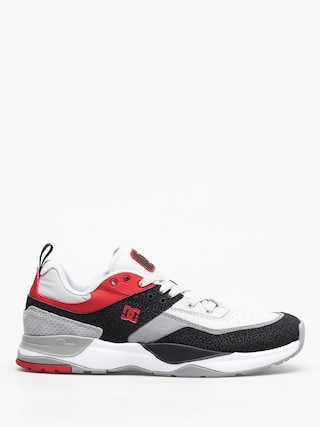 Buty DC E Tribeka (black/athletic red/battleship)
