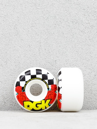 Kółka DGK Fast Times (white/black/red)