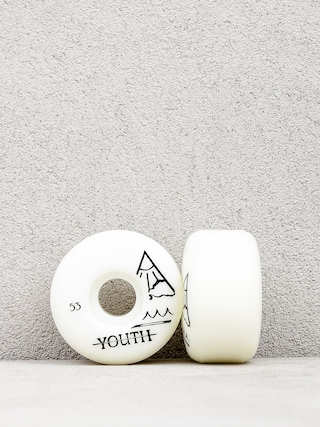 Kółka Youth Skateboards Triangle Logo (white)