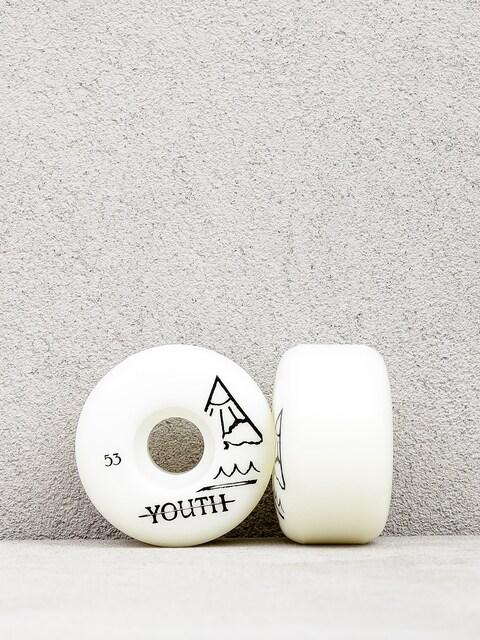 Kółka Youth Skateboards Triangle Logo (white)