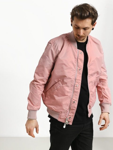 Kurtka Diamond Supply Co. Panelled Bomber (pink)
