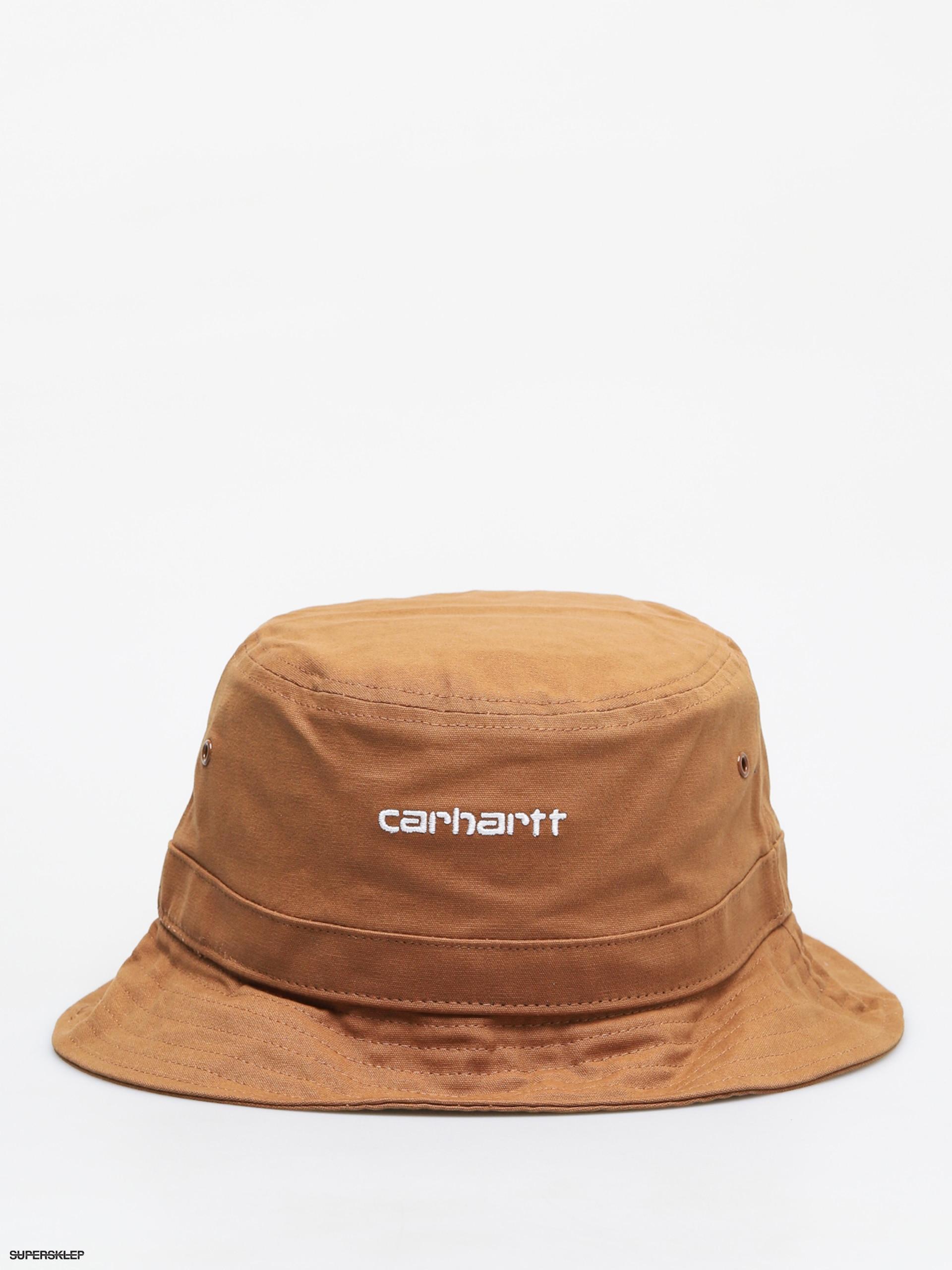 Kapelusz Carhartt WIP Script (hamilton brownwhite)
