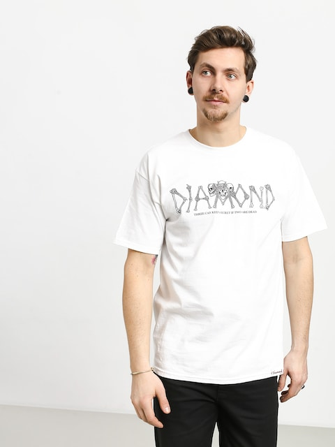 T-shirt Diamond Supply Co. Secrets Die