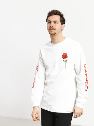 Longsleeve Diamond Supply Co. Desire (white)