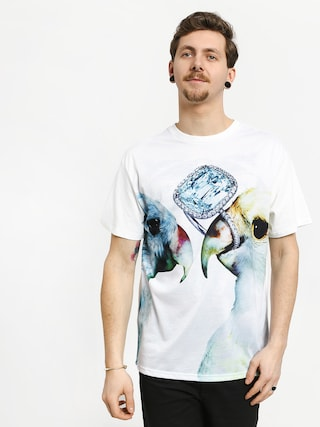 T-shirt Diamond Supply Co. Diamond Perroquet (white)