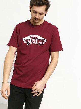 T-shirt Vans Vans Otw (rhumba red/white)