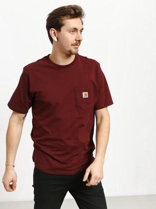 T-shirt Carhartt WIP Pocket (cranberry)