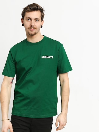T-shirt Carhartt WIP College Script (dragon/white)