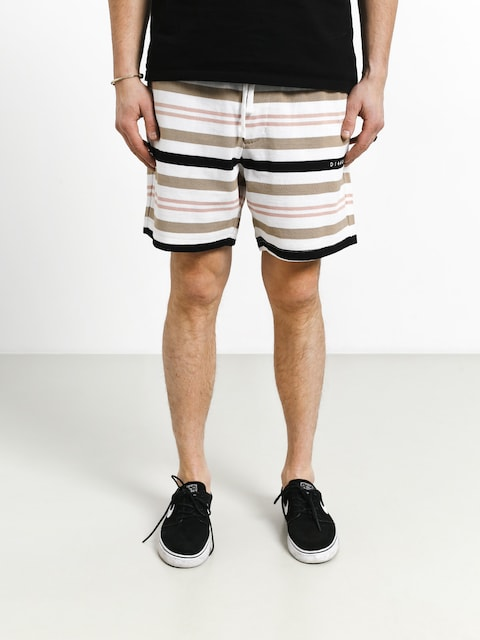 Szorty Diamond Supply Co. Marquise Striped Shorts