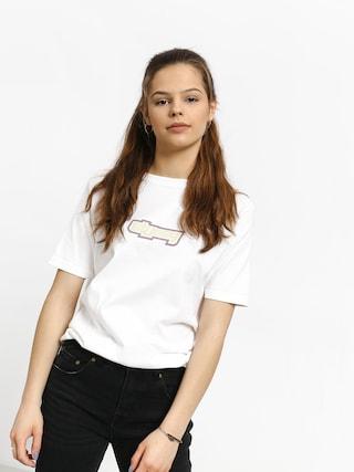 T-shirt Stussy Drop U Wmn (white)