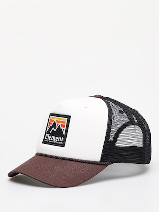 Czapka z daszkiem Element Peak Trucker ZD (chocolate torte)