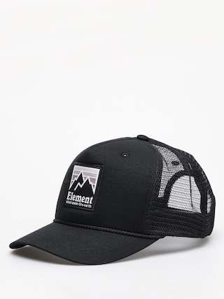 Czapka z daszkiem Element Peak Trucker ZD (off black)