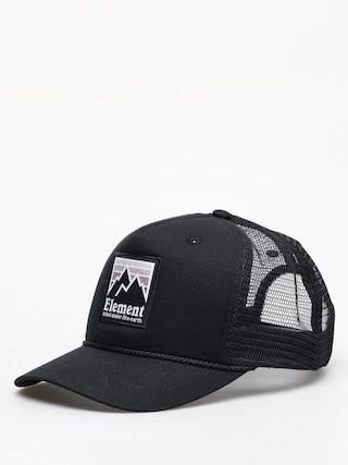 Czapka z daszkiem Element Peak Trucker ZD (off black)