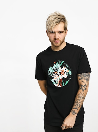 T-shirt RVCA Motors Fill (black)