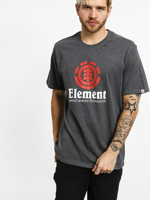 T-shirt Element Vertical (charcoal heather)