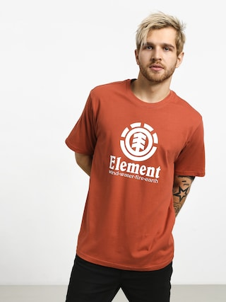 T-shirt Element Vertical (etruscan red)