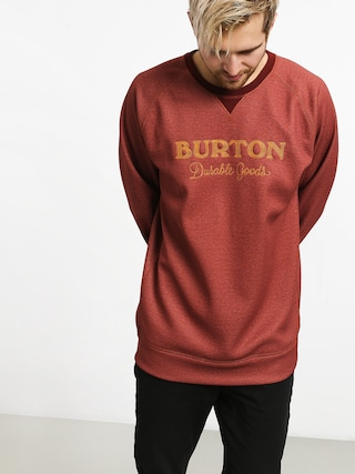 Bluza aktywna Burton Crown Bndd Crew (sparrow heather)