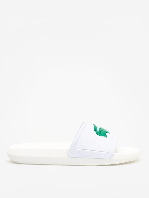 Klapki Lacoste Croco Slide 119 3 Wmn (white/green)