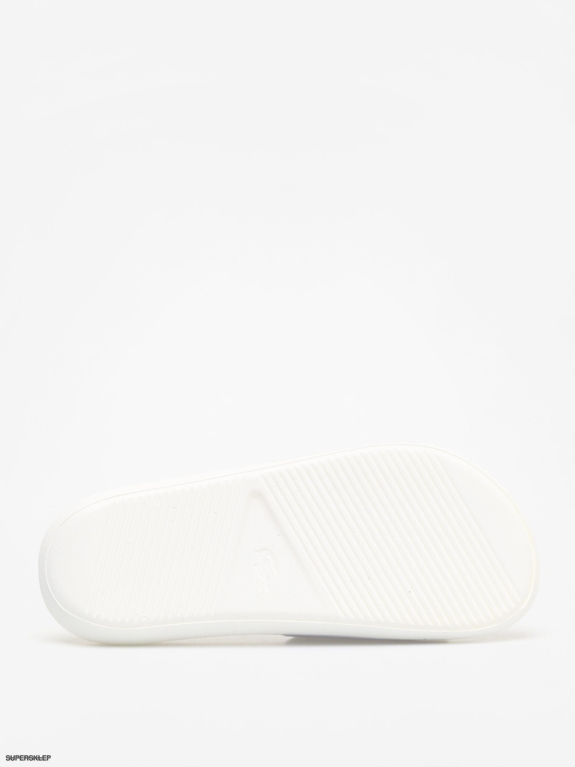 2dc53cea42ca4 Klapki Lacoste Croco Slide 119 3 Wmn (white/green)