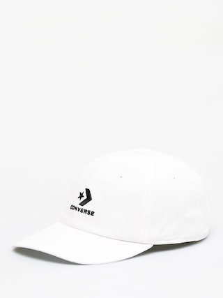 Czapka z daszkiem Converse Lock Up Baseball ZD (white/black)