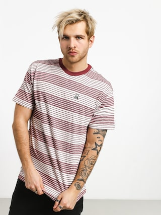 T-shirt RVCA Longsight (bordeaux)