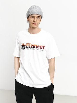 T-shirt Element Glimpse Horizontal (optic white)