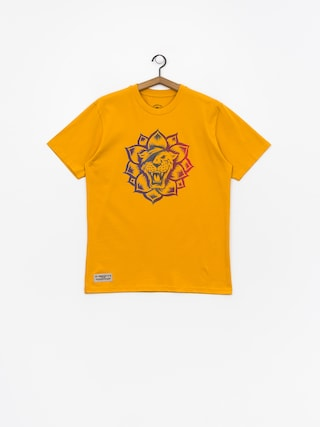 T-shirt Turbokolor Flower Power (yellow)