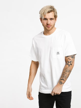 T-shirt Element Basic Pocket Label (optic white)