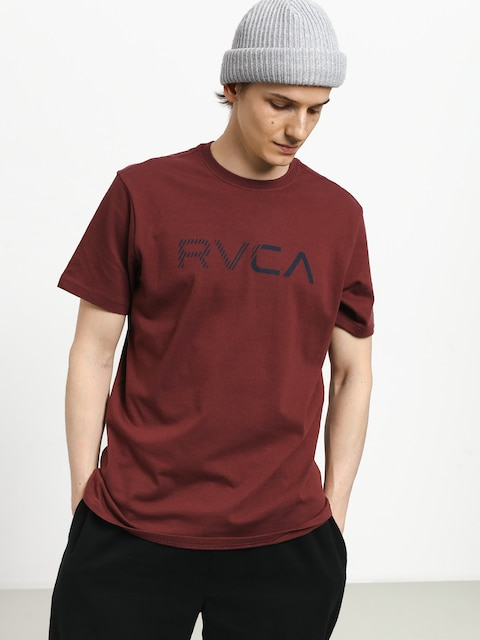T-shirt RVCA Blinded (bordeaux)