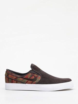 Buty Nike SB Zoom Stefan Janoski Slip Premium (velvet brown/velvet brown multi color)