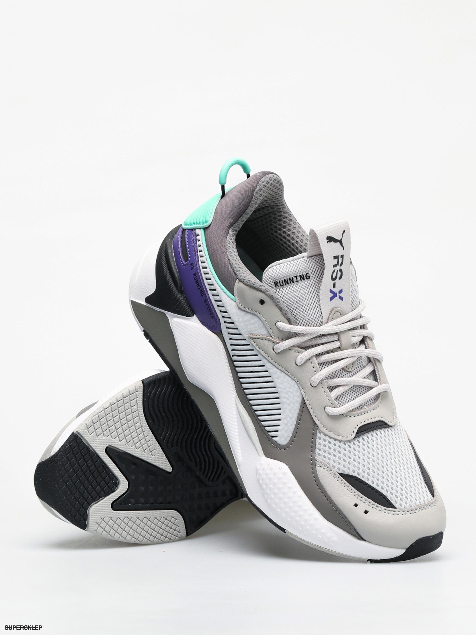 Buty Puma Rs X Tracks (gray violetcharcoal gray)