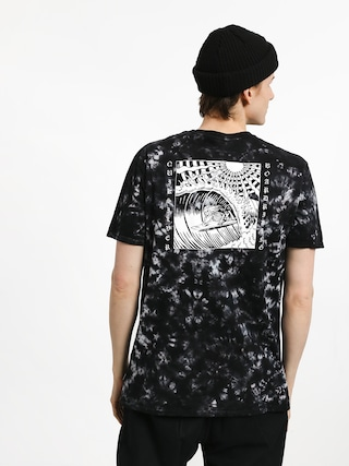 T-shirt Quiksilver Bored In The Barrel (black)