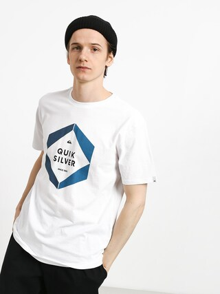 T-shirt Quiksilver Hexa Logo (white)