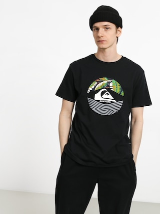 T-shirt Quiksilver Stomped On (black)