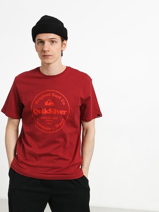 T-shirt Quiksilver Secret Ingredient (brick red)