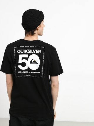 T-shirt Quiksilver The Label (black)