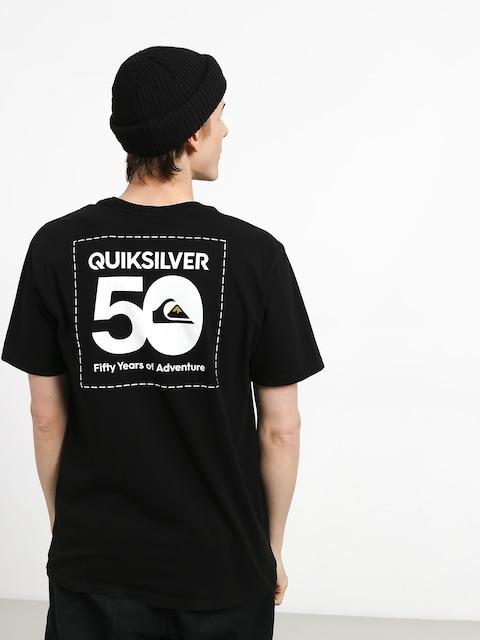 T-shirt Quiksilver The Label (black)