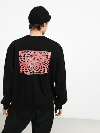 Bluza Carhartt WIP Body & Paint (black/red)