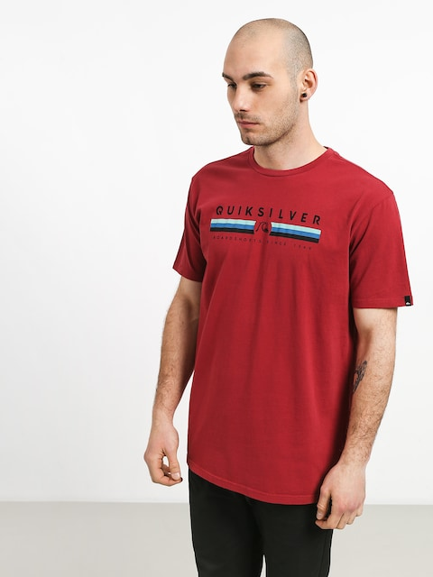 T-shirt Quiksilver Get Bizzy (brick red)